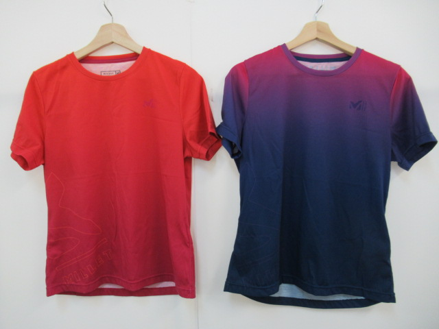 Millet(ミレー) MグラデーションTシャツ レディース 2枚セット