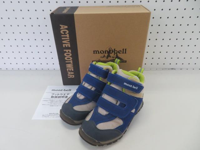 mont-bell(モンベル) マーセドブーツ Kid's 19 BLU