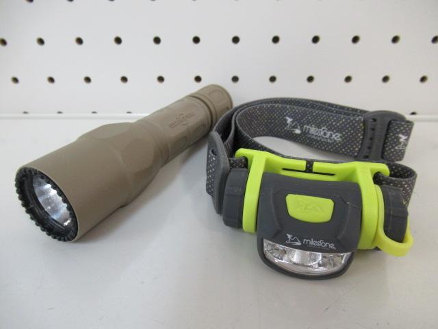 その他ブランド SUREFIRE G2X デュアルスイッチ+ヘッドライト