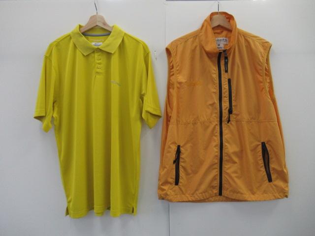 Columbia(コロンビア) メンズ ベスト+ポロシャツセット