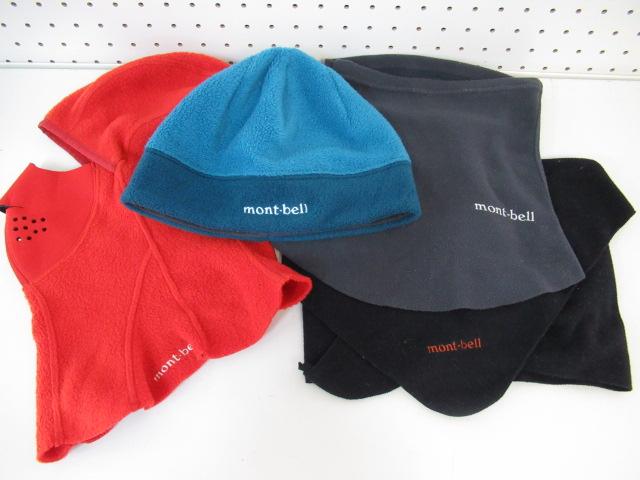mont-bell(モンベル) ネオプレン フェイスバラクラバ+ウィンター小物セット