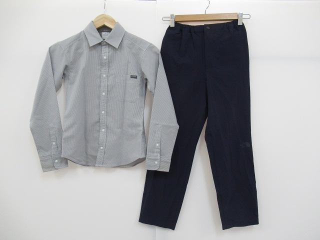 THE NORTH FACE(ノースフェイス) ジュニア フレキシブルパンツ+L/Sシャツ セット