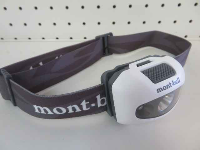 mont-bell(モンベル) パワー ヘッドランプ