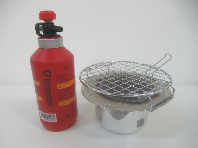 Trangia(トランギア) アルコールバーナー用 ゴトク ボトルセット ロースター付