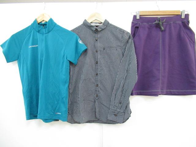 MAMMUT(マムート) 【値下げ】トレイル S/S ジップシャツ+シャツ・スカート 3点セット