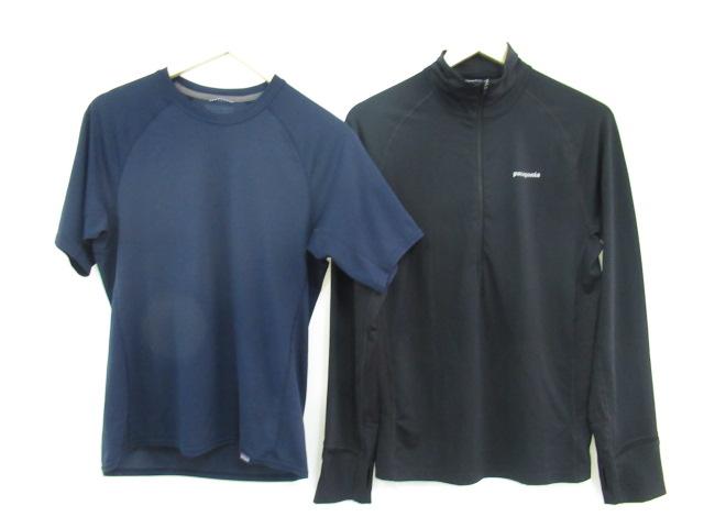 patagonia(パタゴニア) オールウェザー ジップネック+メンズ キャプリーンTシャツ