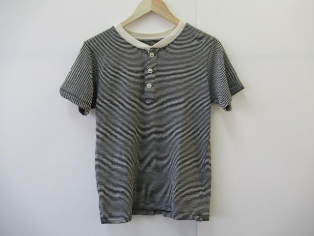 その他ブランド 【値下げ】山と道 メリノヘンリーTシャツ ストライプ