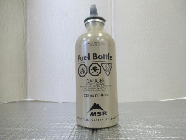 MSR(エムエスアール) ミリタリー 燃料ボトル 11oz