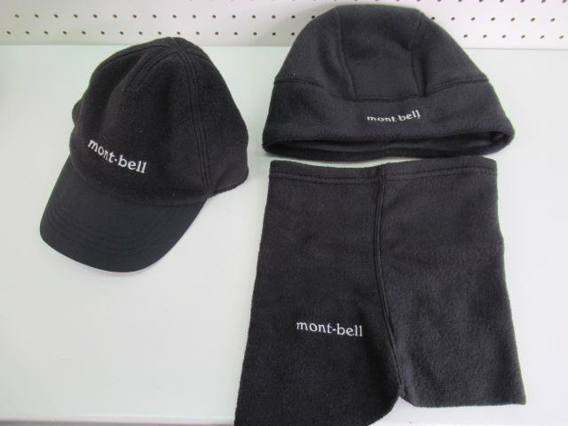 mont-bell(モンベル) 【値下げ】キャップ・ネックウォーマーセット 2