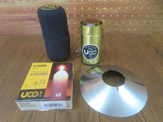 UCO(ユーコ) キャンドルランタン ブラスセット