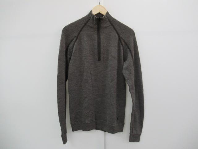 SMARTWOOL(スマートウール) ウール100% ハーフジップロングシャツ 厚手 メンズ