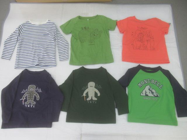 mont-bell(モンベル) キッズ用Tシャツ6点セット