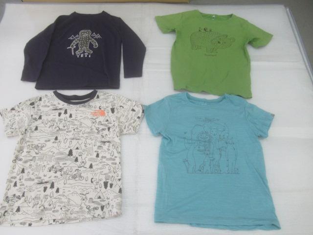 mont-bell(モンベル) キッズ用Tシャツ 4点セット