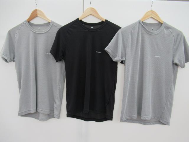 mont-bell(モンベル) メンズ ジオライン L.W. Tシャツ3点