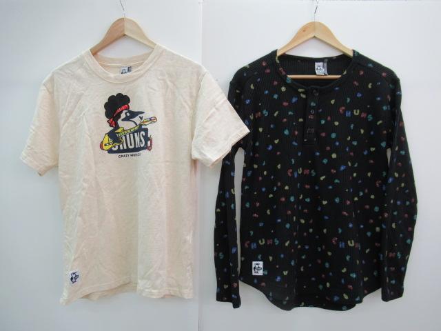 CHUMS(チャムス) 【値下げ】ワッフルヘンリーロングスリーブTシャツ+Tシャツ