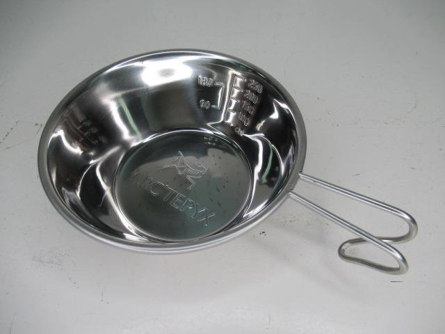 ARC'TERYX(アークテリクス) 非売品 シェラカップ ステンレス製