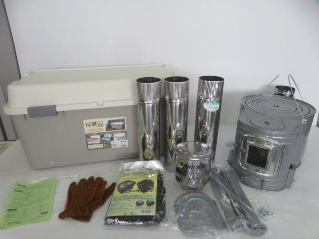 ホンマ製作所 ストーブコンロセット APS-52 時計型薪ストーブ