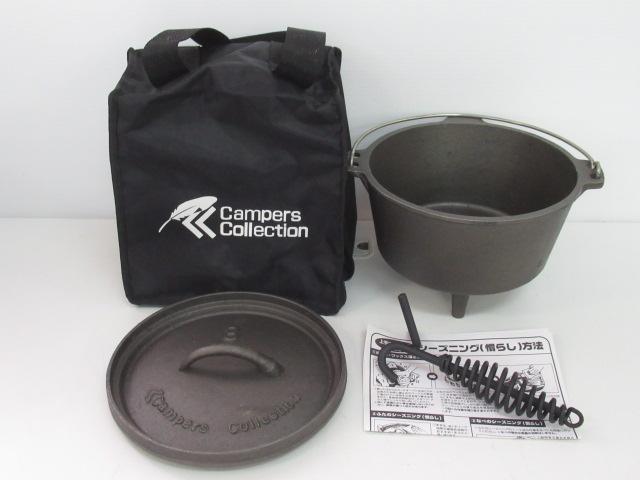 Campers Collection(キャンパーズコレクション) ダッチオーブン 8インチ 脚付き D-81
