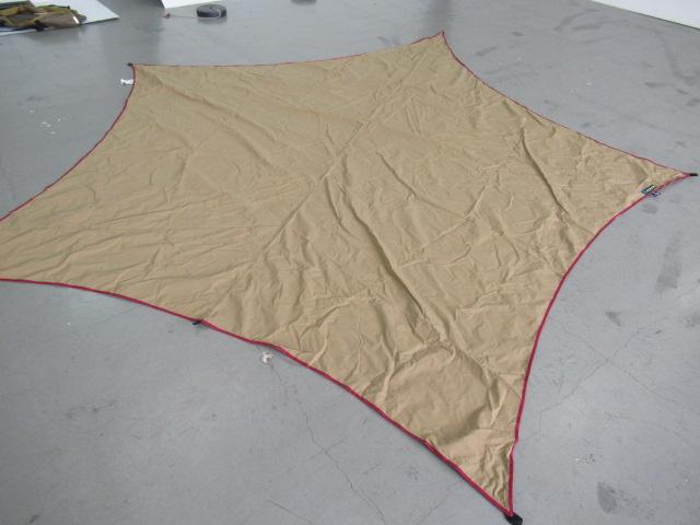 tent-Mark DESIGNS(テンマクデザイン) ムササビウイング13ft. TC 焚き火 バージョン