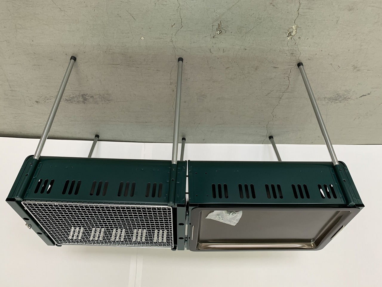 CAPTAIN STAG(キャプテンスタッグ) カリブー ダブルバーベキューコンロ M-8985