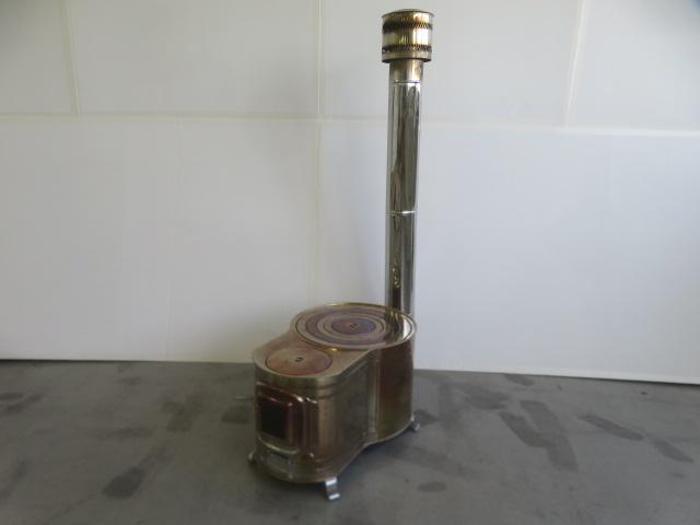 ホンマ製作所 ステンレス 時計1型薪ストーブセット ASS-60