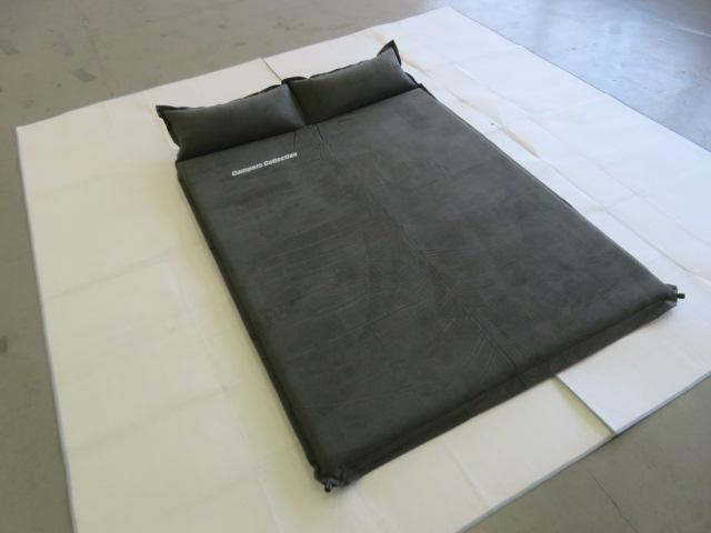 Campers Collection(キャンパーズコレクション) ピロー付きインフレータブルマット(厚さ5cm) ダブル
