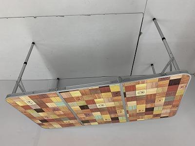 Coleman(コールマン) ナチュラルモザイクリビングテーブル 140
