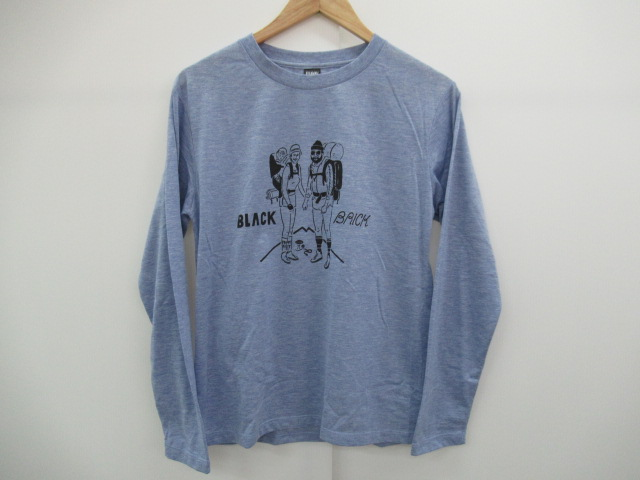 その他ブランド BLACK BRICK ハイカーロングTシャツ