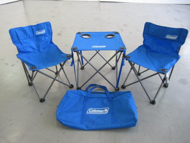 Coleman(コールマン) コンパクトチェアテーブルセット ブルー 2000011513