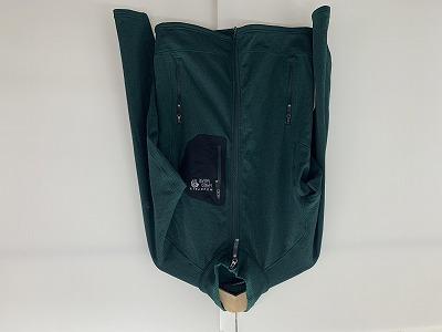 MOUNTAIN HARDWEAR(マウンテンハードウェア) マイクログリッドジャケット グリーン
