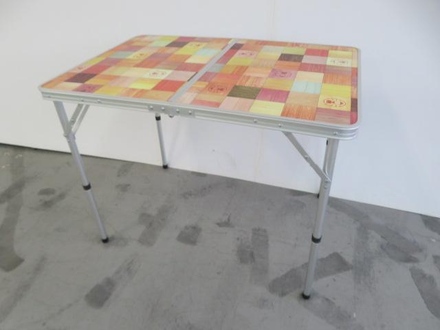 Coleman(コールマン) ナチュラルモザイク リビングテーブル/90プラス