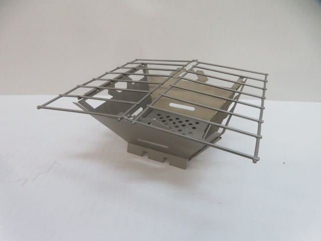 VARGO(バーゴ) チタニウムファイヤーボックスグリル T-433