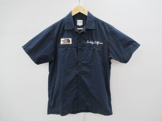 THE NORTH FACE(ノースフェイス) ショートスリーブ ロゴバッジシャツ メンズ