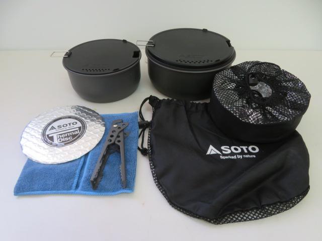 SOTO(ソト・新富士バーナー) ナビゲーター クックシステム SOD-501
