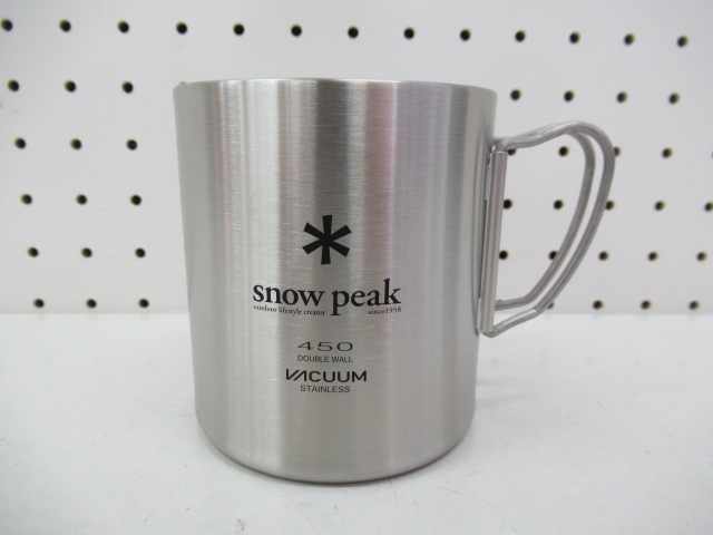Snow Peak(スノーピーク) ステンレス真空マグ 450