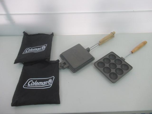 Coleman(コールマン) ホットサンドイッチクッカー おつまみクッカー セット