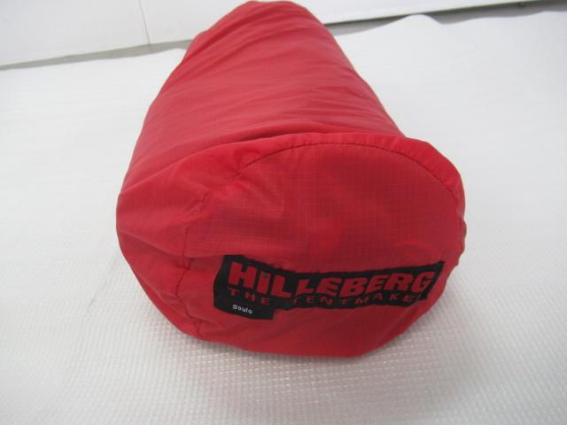Hilleberg(ヒルバーグ) ソウロ レッド フットプリント・メッシュインナーセット