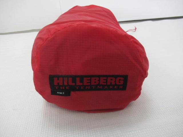 Hilleberg(ヒルバーグ) アラック3 レッド フットプリントセット
