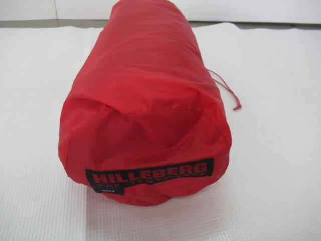 Hilleberg(ヒルバーグ) ナロ2 レッド フットプリントセット