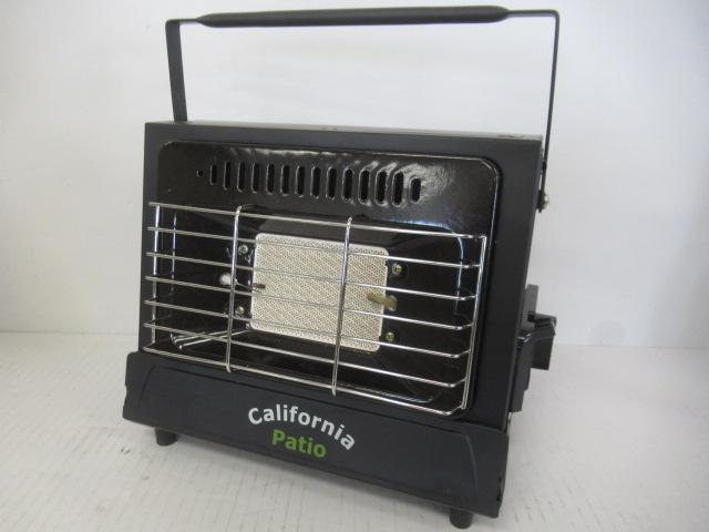 California Patio(カルフォルニアパティオ) カセットヒーター マットブラック