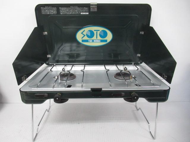 SOTO(ソト・新富士バーナー) ツーバーナー ST-501
