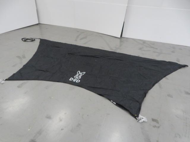 DOD(ディーオーディー) ブラックタープ TT5-473-BK