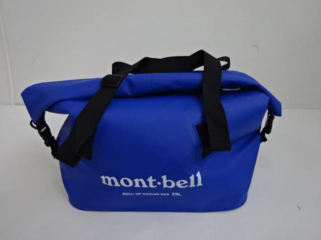mont-bell(モンベル) ロールアップ クーラーバッグ25L ブルー 1123643