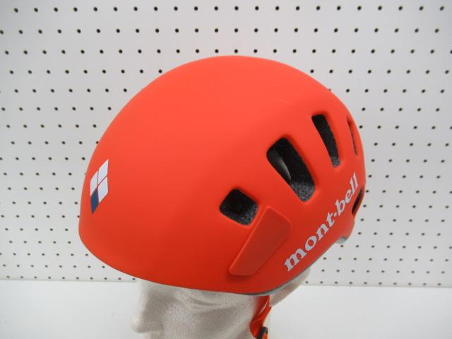 mont-bell(モンベル) L.W.アルパインヘルメット オレンジ
