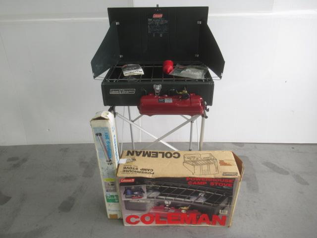 Coleman(コールマン) パワーハウスツーバーナー 413H499J 95年 セット