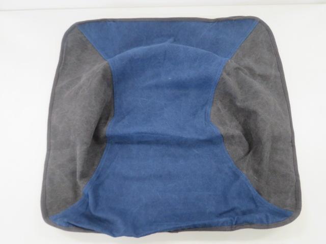 tent-Mark DESIGNS(テンマクデザイン) コットンチェアカバー ネイビー×ブラック