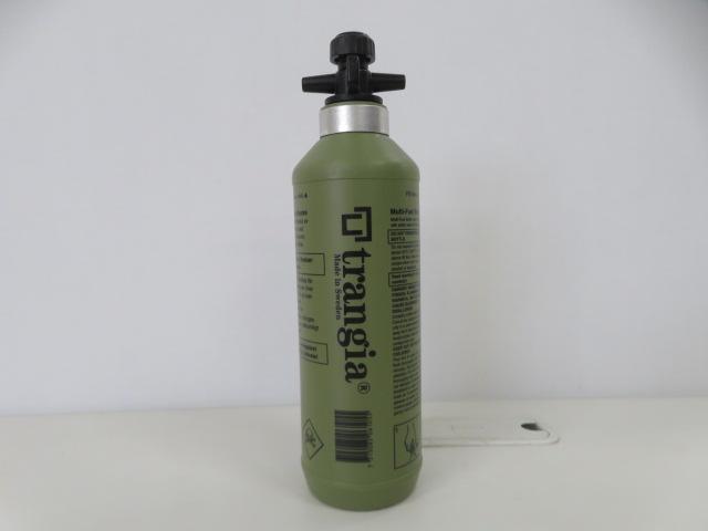 Trangia(トランギア) フューエルボトル 500ml オリーブ