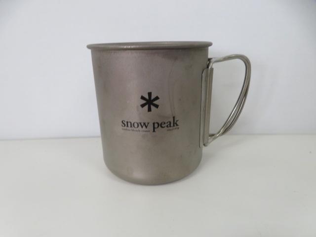 Snow Peak(スノーピーク) 60周年記念チタンシングルマグ300 Asterisk