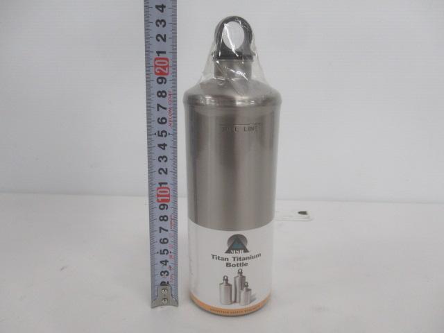 MSR(エムエスアール) チタン 燃料ボトル 0.8L 2