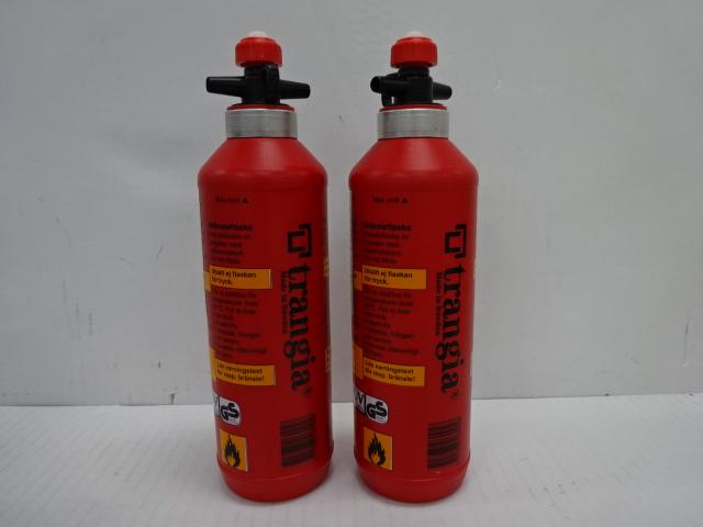Trangia(トランギア) フューエルボトル  0.5L×2個セット